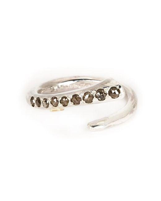 Rosa Maria | Metallic 'britt' Diamond Ring | Lyst