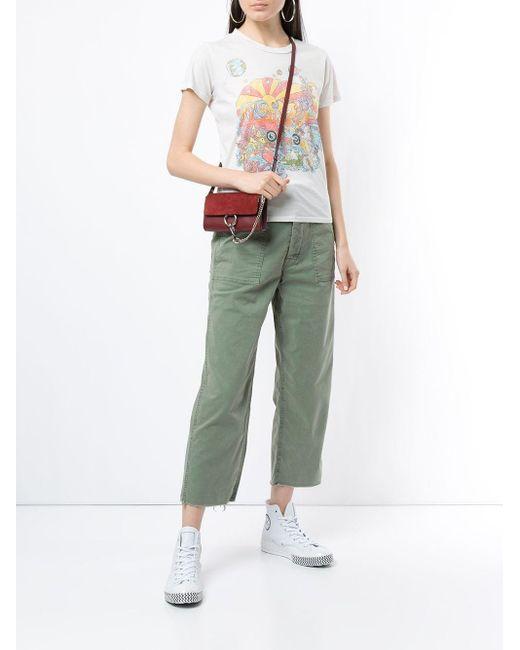 Private patch pocket jeans Mother en coloris Green