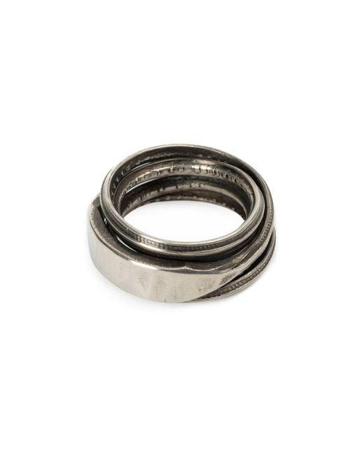 Werkstatt:münchen | Metallic Werkstatt:münchen Connected Rings | Lyst