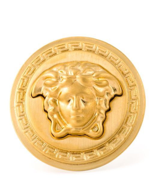 Versace   Metallic Medusa Sovereign Ring   Lyst