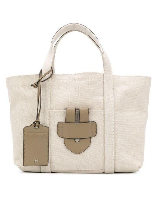Tila March Multicolor Simple Small Tote Bag