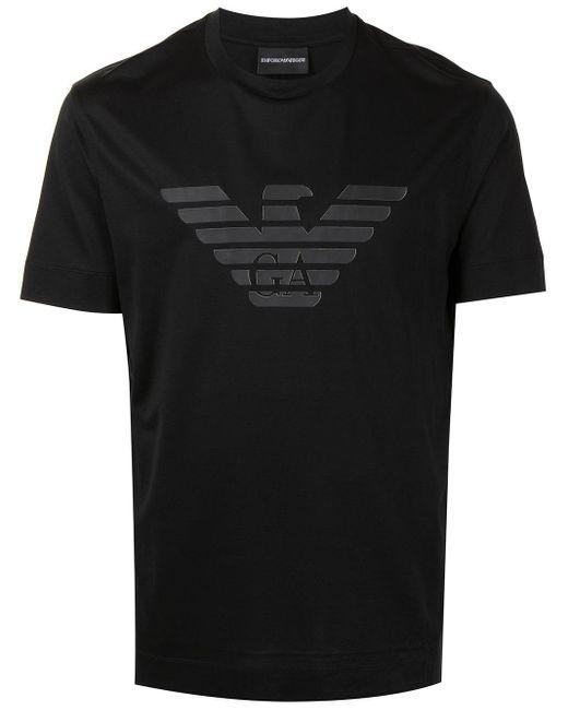 Футболка С Логотипом Emporio Armani для него, цвет: Black