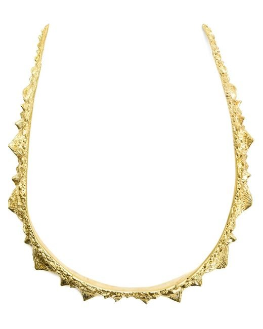 Henson | Metallic 'spine' Necklace | Lyst