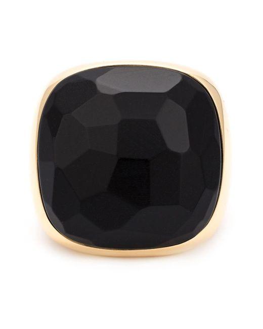 Pomellato | Metallic Square Jet Ring | Lyst