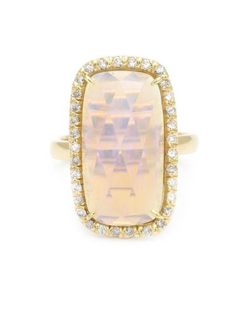 Kimberly Mcdonald | Metallic Diamond Pavé Opal Ring | Lyst