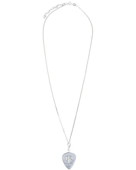 True Rocks | Metallic 'plectrum' Necklace | Lyst