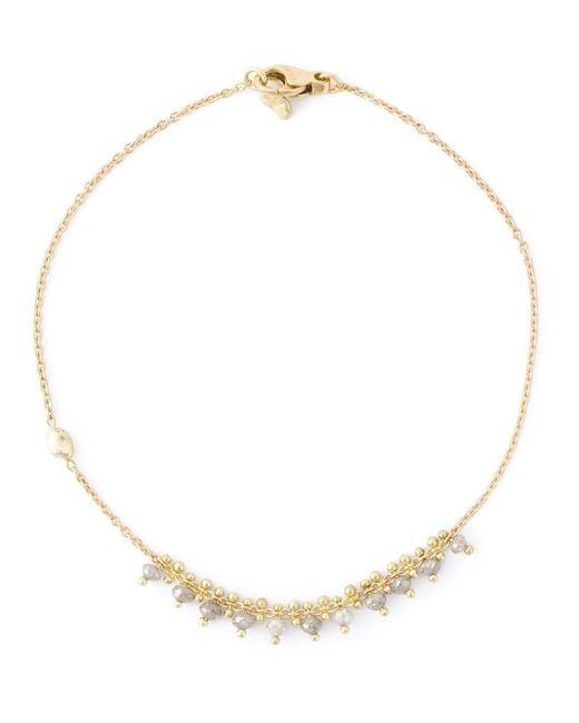 Natasha Collis | Metallic Grey Diamond Bracelet | Lyst