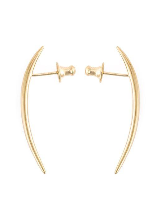 Shaun Leane | Metallic Short 'quill' Earrings | Lyst