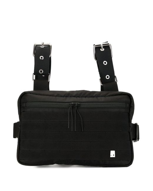 1017 ALYX 9SM Black Zipped Belt Bag