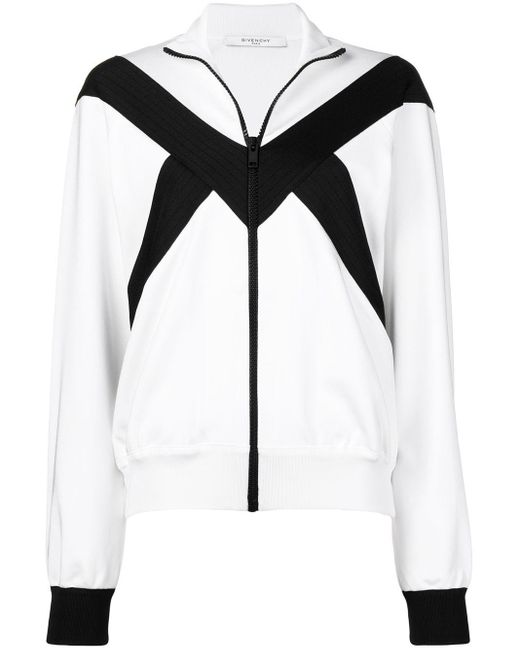 Givenchy ジップアップ ボンバージャケット Black