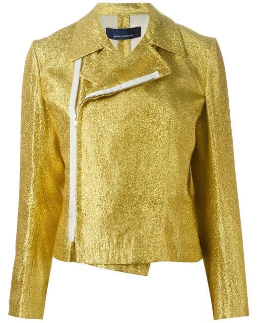 Comme des Garçons   Multicolor Comme Des Garçons Vintage Shiny Biker Jacket   Lyst