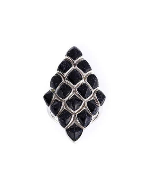 Stephen Webster | Black Faceted Stone Ring | Lyst