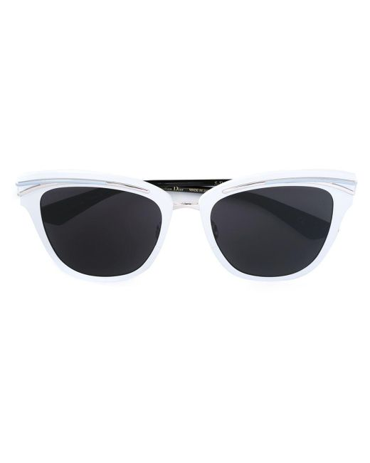 Dior | White 'so Dior' Sunglasses | Lyst