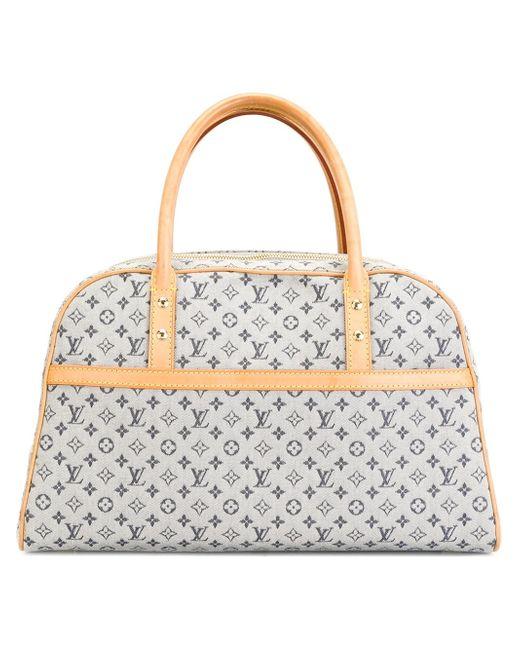 Louis Vuitton   Gray Denim Monogram Tote   Lyst