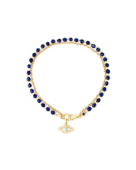 astley clarke evil eye biography bracelet in metallic lyst