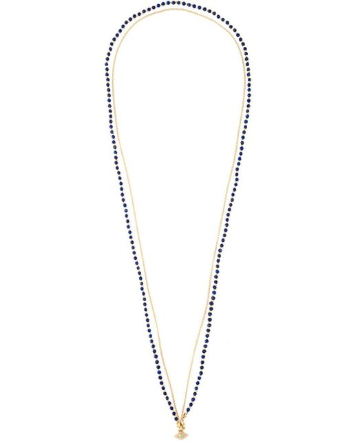 Astley Clarke | Blue 'evil Eye Biography' Diamond Necklace | Lyst