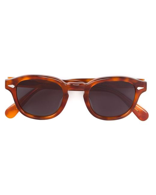 Lesca | Red 'posh/s 053' Sunglasses | Lyst