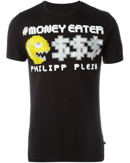 Philipp Plein   Black T-shirt for Men   Lyst