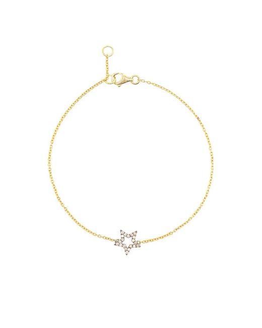 Rosa De La Cruz | Pink Diamond Star Charm Bracelet | Lyst