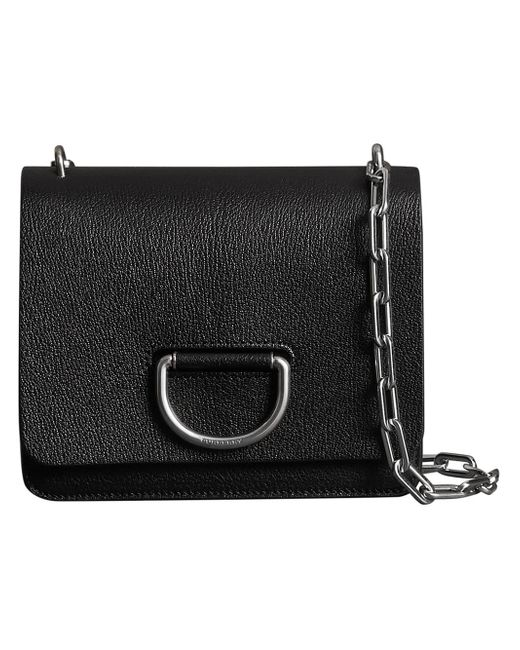 c9c95b95b0a2 Women's Black The Small Leather D-ring Bag
