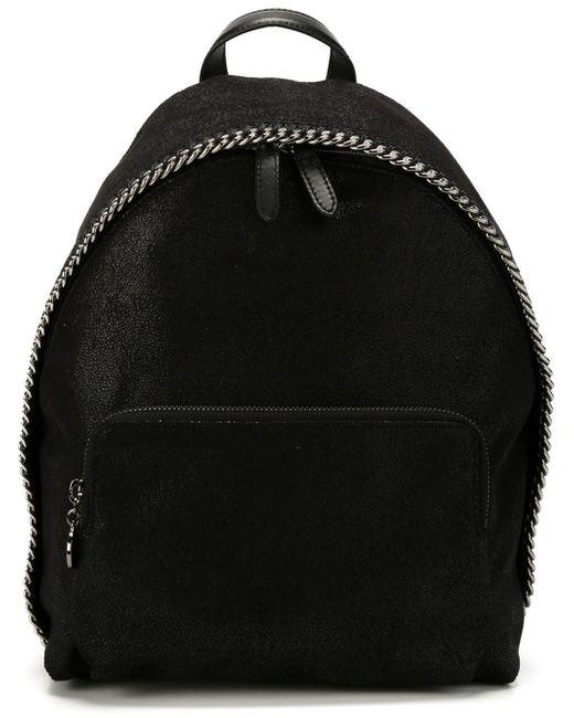 stella mccartney falabella mini backpack in multicolor lyst. Black Bedroom Furniture Sets. Home Design Ideas