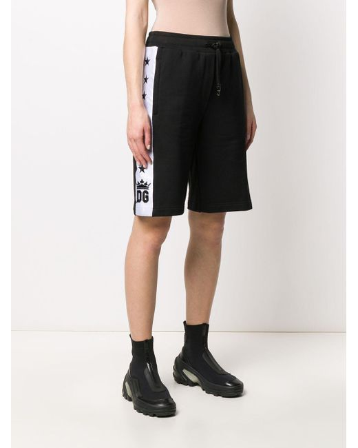 Dolce & Gabbana トラックショーツ Black