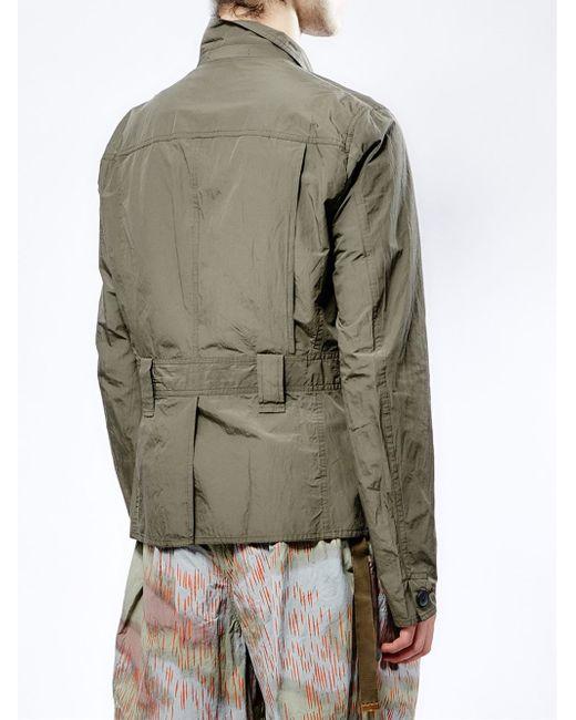 Kolor Cargo Jacket In Khaki For Men Green Save 60 Lyst