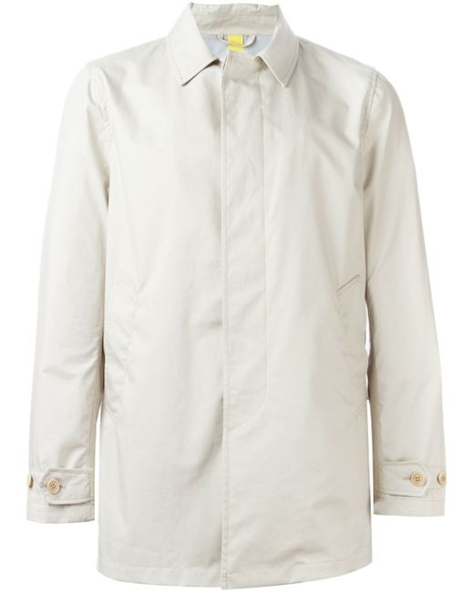 Aspesi | Blue 'alfetta' Raincoat for Men | Lyst