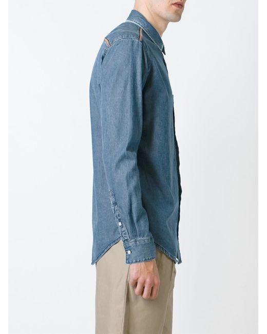 denim shirt pockets - photo #16