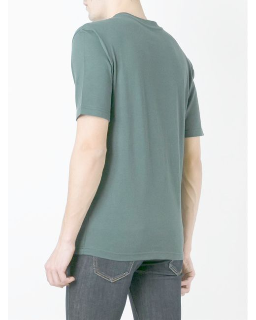 Palace Printed T Shirt In Green For Men Lyst