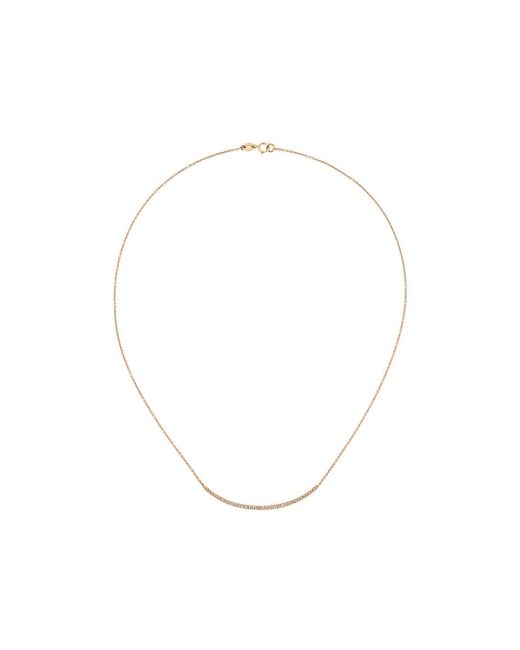 Wouters & Hendrix | Metallic Champagne Diamond Pavé Necklace | Lyst