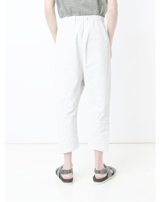 Baggy Trousers (€25) liked on Polyvore featuring pants, stretch waist pants, baggy trousers, mango pants, white elastic waist pants and elastic waistband pants Find this Pin and more on Clothes by athina kts.