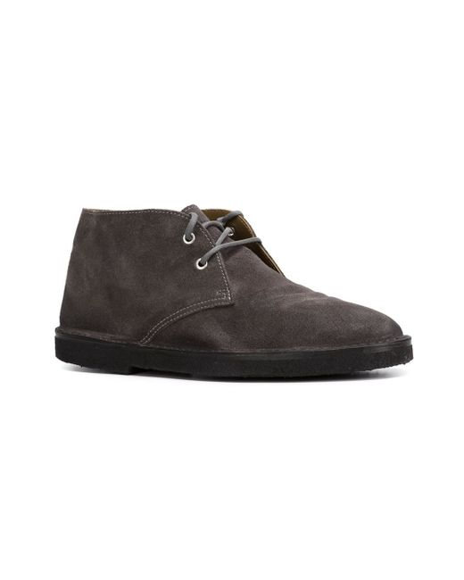 golden goose deluxe brand city desert boots in black for