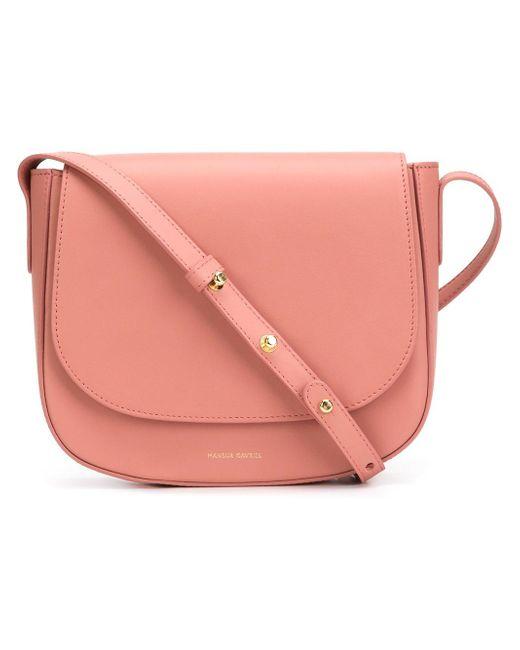 Mansur Gavriel | Pink Structured Crossbody Bag | Lyst