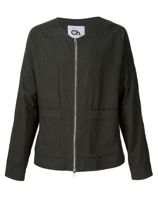 Chapter Zipped Jacket In Black For Men (GREEN) | Lyst