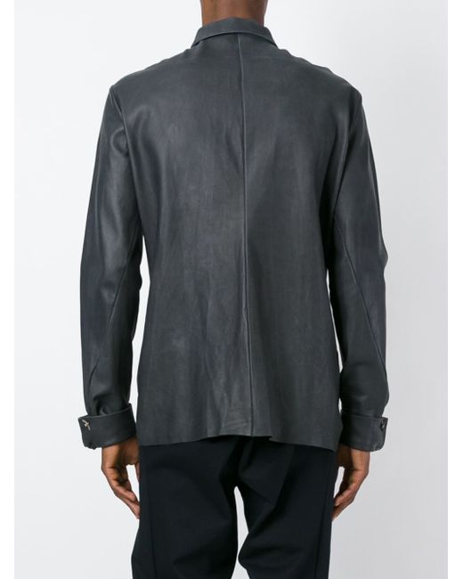 Find mens long sleeve leather shirt at ShopStyle. Shop the latest collection of mens long sleeve leather shirt from the most popular stores - all in.