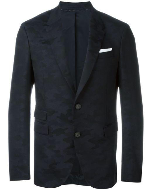 Neil barrett camouflage tuxedo jacket men polyester for Neil barrett tuxedo shirt