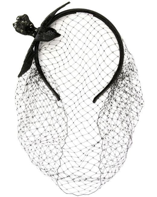 RED Valentino   Black Sequined Bird Headband   Lyst