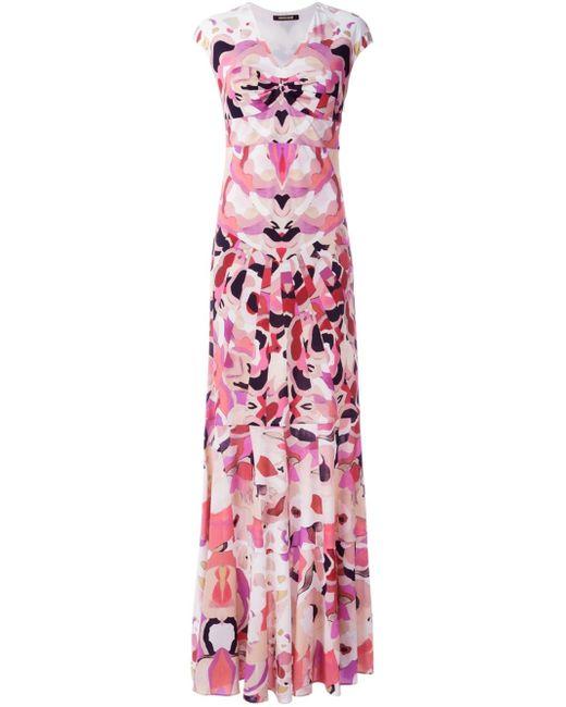 Roberto cavalli 'kaleidoscope' Maxi Dress in Multicolor ...