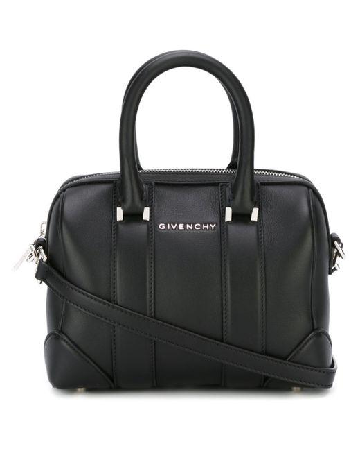 Givenchy | Black Mini Lucrezia Leather Tote | Lyst