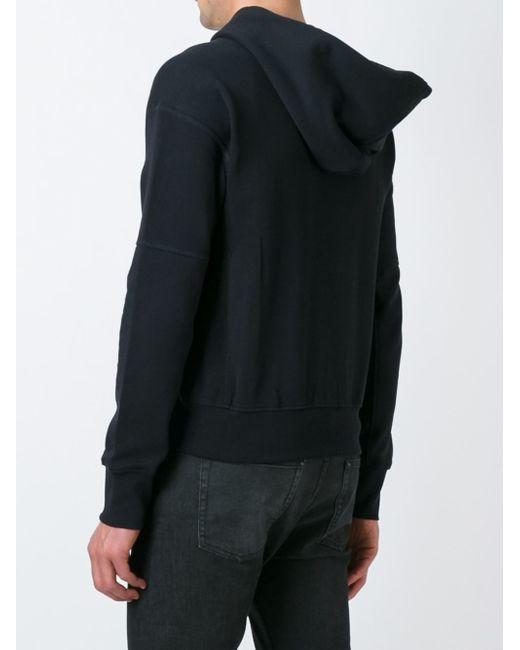 alexander mcqueen skull crown patch hoodie in black for men lyst. Black Bedroom Furniture Sets. Home Design Ideas