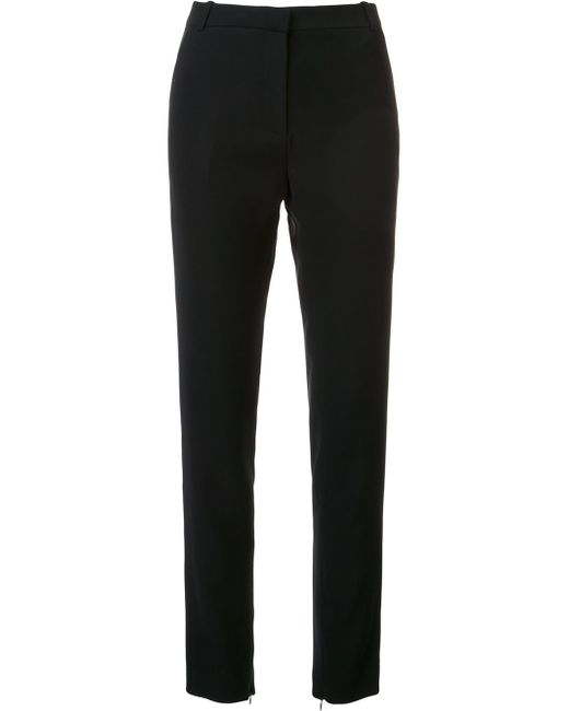 Mugler | Black Slim-fit Trousers | Lyst