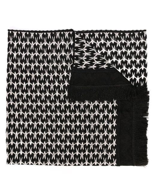 Missoni | Black Knitted Scarf | Lyst