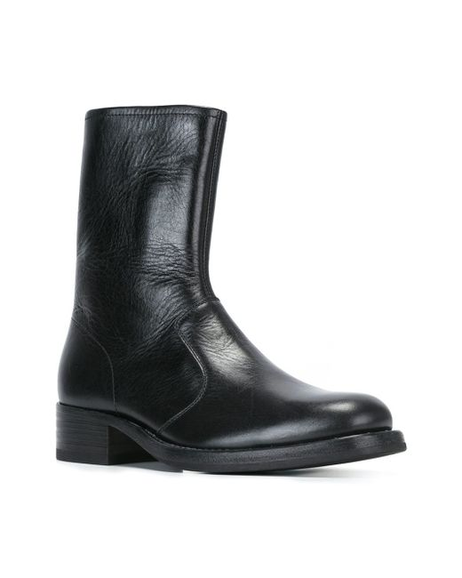maison margiela classic ankle boots in black for lyst