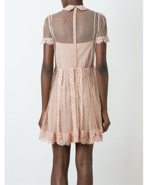 Lace dress valentino ads