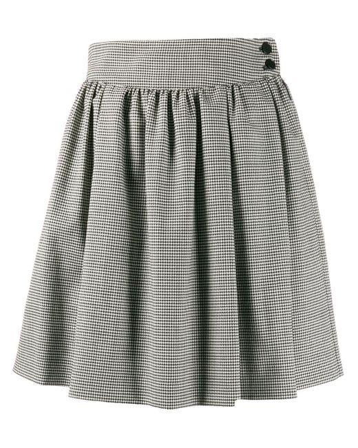 MSGM ハウンドトゥース スカート Multicolor