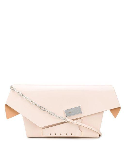 Maison Margiela Pink Snatched Large Bag