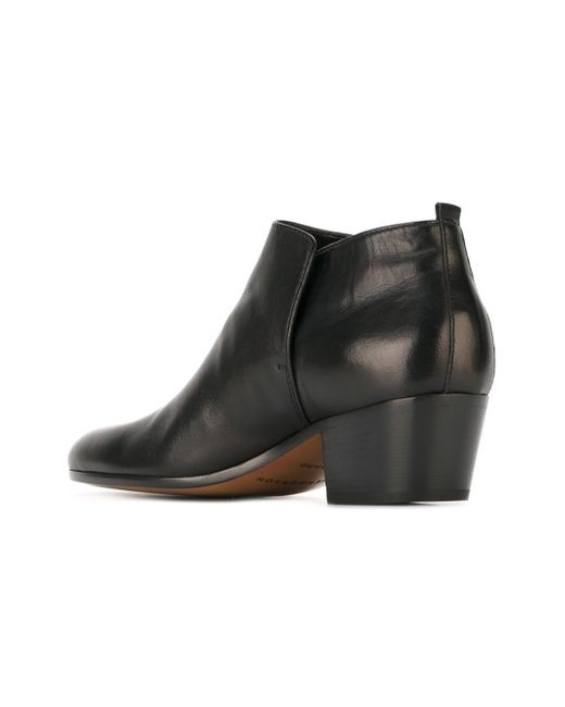 henderson classic ankle boots in black lyst