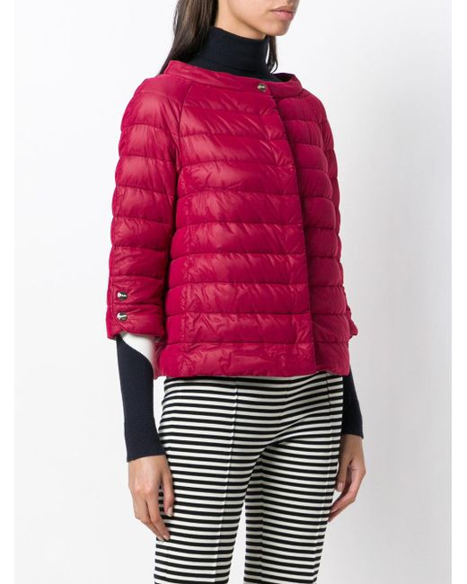 c90190ebcf7 ... Herno - Feathered Puffer Jacket - Lyst ...