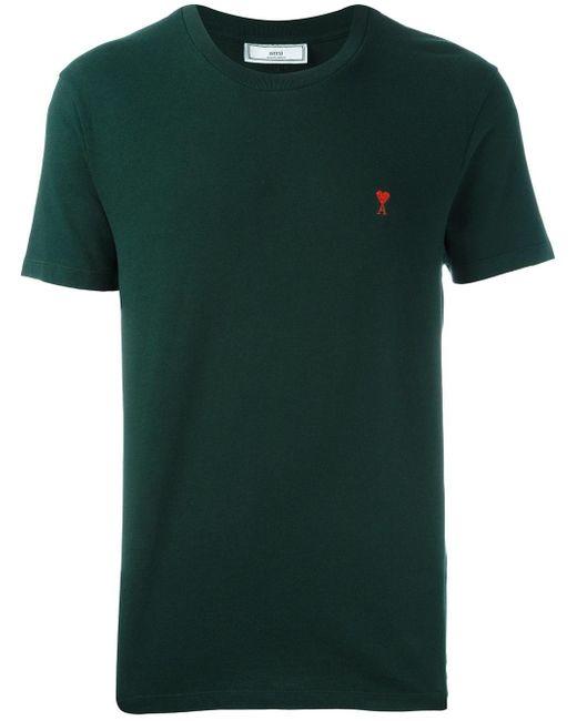 AMI   Green Ami De Coeur T-shirt for Men   Lyst